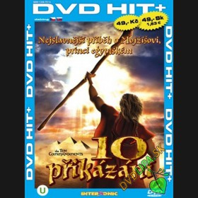10 přikázání (The Ten Commandments) DVD