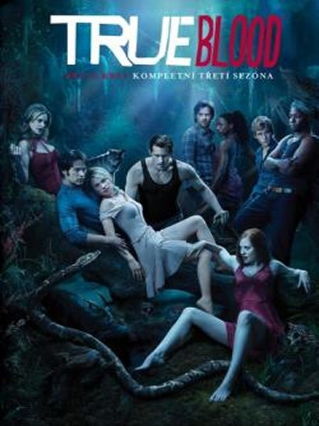 True Blood - Pravá krev 3. série 5 DVD   (True Blood Season 3.)