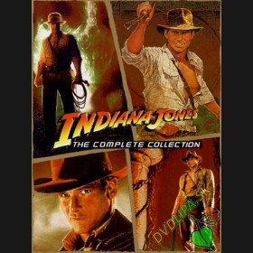 Indiana Jones kompletni kolekce- 4DVD (Indiana Jones: The Complete Adventures Collection)