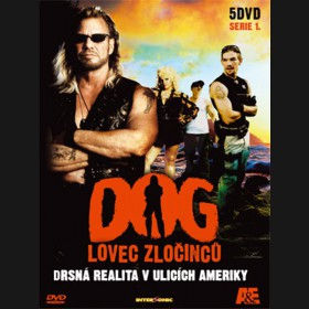 Dog Lovec zločinců kolekce /5DVD/ (Dog the Bounty Hunter)