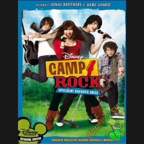 Camp Rock (Camp Rock) DVD