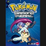 Pokémon Diamond and Pearl 21 .-25.díl (DVD 5)