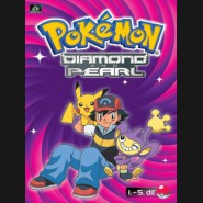 Pokémon Diamond and Pearl 1.-5.díl (DVD 1)