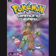 Pokémon Diamond and Pearl 36.-40.díl (DVD 8)