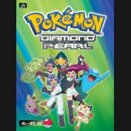 Pokémon Diamond and Pearl 41.-45.díl (DVD 9)