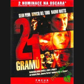21 Gramov (21 Grams) DVD