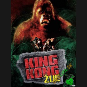 King Kong žije (King Kong Lives) DVD
