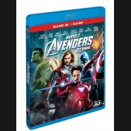 Mstitelé (The AVENGERS 2012) - 3D + 2D (Combo Pack) Blu-ray