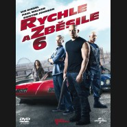 Rychle a zběsile 6 (The Fast and the Furious 6) DVD