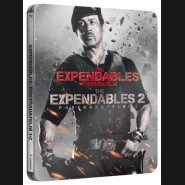 Expendables: Postradatelní 1+2 (steelbook) 2BRD BLU-RAY   Expendables 1 & 2