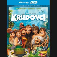 Krúdovci /  CROODSOVI / (The Croods) - Blu-ray 3D + 2D + DVD