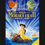 MALÁ MOŘSKÁ VÍLA 2: NÁVRAT DO MOŘE (The Little Mermaid II: Return to the Sea) DVD
