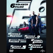 Rychle a zběsile 1-6 BOX (Fast & Furious 1-6 BOX) 2013 DVD
