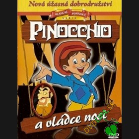 Pinocchio a vládce noci (Pinocchio and the Emperor of the Night) DVD