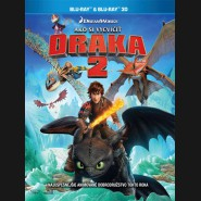 Ako vycvičiť draka 2 (How to Train Your Dragon 2) - Blu-ray 3D + 2D