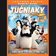 Tučňáci z Madagaskaru (The Penguins of Madagascar) 3D Blu-ray + Blu-ray