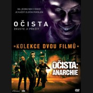 OČISTA + OČISTA: ANARCHIE (The Purge + The Purge: Anarchy)- 2 DVD