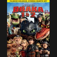 Ako vycvičiť DRAKA 1 + 2 (How to Train Your Dragon 1 + 2) KOLEKCE 2XDVD
