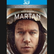 Marťan (The Martian)  Blu-ray 3D + 2D