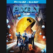 Pixely (Pixely) 2 disky, 3D + 2D Blu-ray