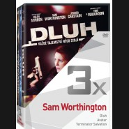 Kolekce:Sam Worthington (Dluh, Avatar, Terminator Salvation) 3DVD
