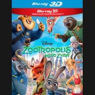 Zootropolis: Město zvířat (Zootropolis) Blu-ray 2BD (3D+2D)