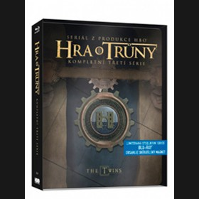 Hra o trůny - 3. SÉRIE - (Game of Thrones) Blu-ray  (5 x BD) steelbook