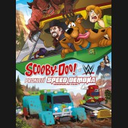 Scooby-Doo & WWE:Prokletí Speed Démona (Scooby-Doo & WWE:Curse of the Speed Demon) DVD