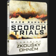 LABYRINT: ZKOUŠKY OHNĚM (Maze Runner: Scorch Trials) Blu-ray STEELBOOK