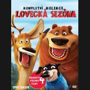 4DVD Lovecká sezóna (Lovecká sezóna 1- 4) DVD