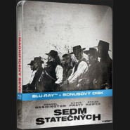 Sedm statečných 2016 (The Magnificent Seven) Blu-ray STEELBOOK + bonusový disk