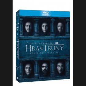 Hra o trůny 6. série (Game of Thrones Season 6) Blu-ray (4 X BD) (Viva balení)