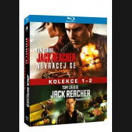 Jack Reacher kolekce 1-2 (Jack Reacher 2-Movie Collection) 2xBlu-ray