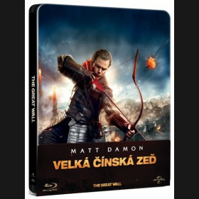 VELKÁ ČÍNSKÁ ZEĎ (The Great WallThe Great Wall) Blu-ray 2D STEELBOOK