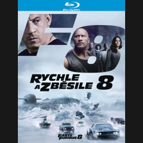 RYCHLE A ZBĚSILE 8 (The Fate of the Furious) Blu-ray