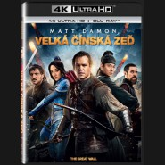 VELKÁ ČÍNSKÁ ZEĎ (The Great WallThe Great Wall) UHD+BD - 2 x Blu-ray