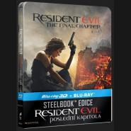 RESIDENT EVIL: POSLEDNÍ KAPITOLA (Resident Evil: The Final Chapte) Blu-ray 3D + 2D STEELBOOK