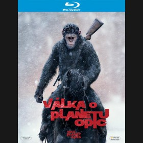 VÁLKA O PLANETU OPIC (War for the Planet of the Apes) Blu-ray