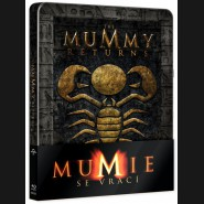 Mumie se vrací (Mummy Returns) Blu-ray STEELBOOK