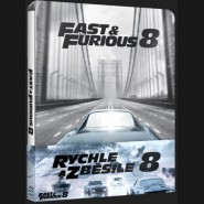 RYCHLE A ZBĚSILE 8 (The Fate of the Furious) Blu-ray STEELBOOK