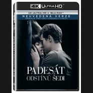 Padesát odstínů šedi (Fifty Shades of Grey) UHD+BD - 2 x Blu-ray