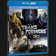TRANSFORMERS: POSLEDNÍ RYTÍŘ (Transformers: The Last Knight) -  Blu-ray 3D + 2D +bonus disk