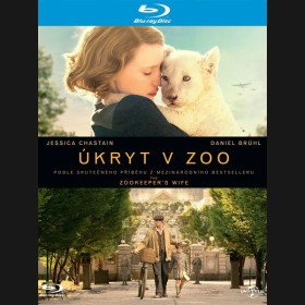 ÚKRYT V ZOO (The Zookeeper's Wife) Blu-ray