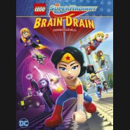 LEGO DC Superhrdinky: Brain Drain (LEGO DC Super Hero Girls: Brain Drain) DVD