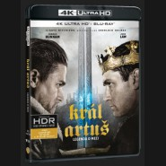 Král Artuš: Legenda o meči (King Arthur: Legend of the Sword) UHD+BD - 2 x Blu-ray