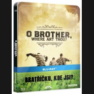 BRATŘÍČKU, KDE JSI? (O Brother, Where Art Thou?) Blu-ray   Steelbook