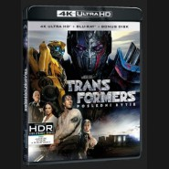 TRANSFORMERS: POSLEDNÍ RYTÍŘ (Transformers: The Last Knight) UHD+BD - 3 x Blu-ray +bonus disk