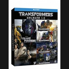Transformers kolekce 1-5 (Transformers 5-Movie Collection) (5Blu-ray)