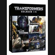 Transformers kolekce 1-5 (Transformers 5-Movie Collection) 5DVD