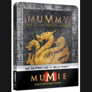 Mumie: Hrob dračího císaře (The Mummy: Tomb of the Dragon Emperor) 2Blu-ray (UHD+BD) Steelbook